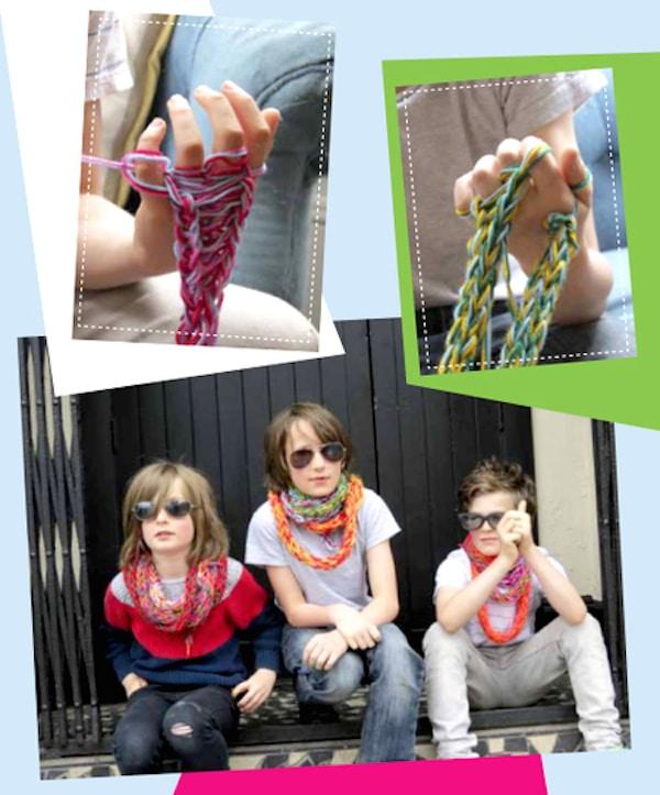 Manualidades infantiles con lana