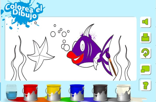 Juego gratis para colorear online