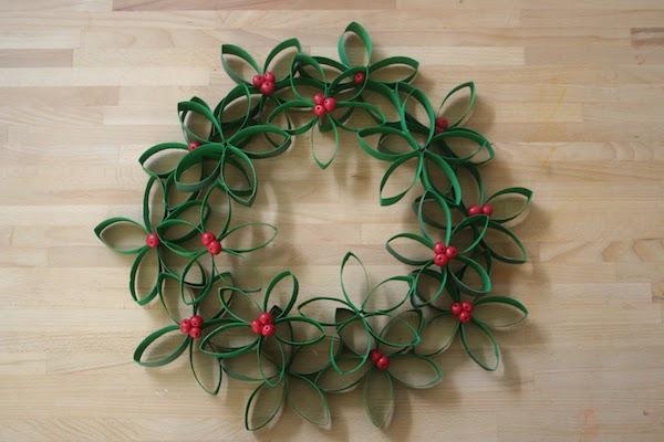 coronas de navidad fciles