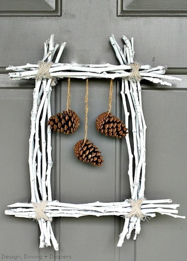 Manualidades navide as usamos pi as pequeocio - Adornos para navidad con pinas ...