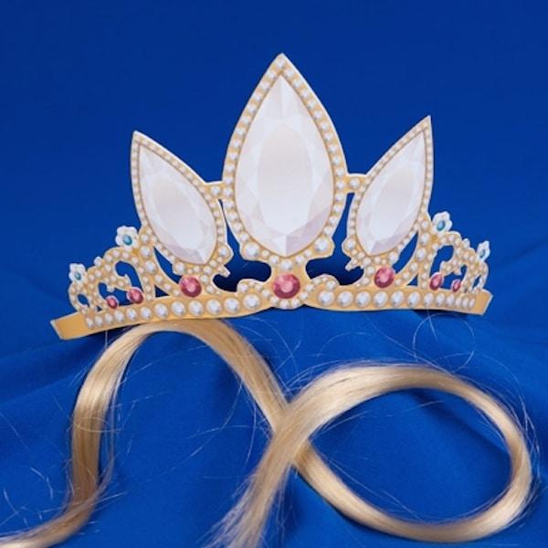 Coronas de princesas para imprimir