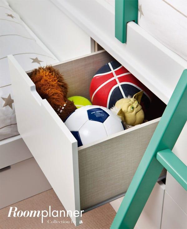 Muebles Asoral para la habitación infantil