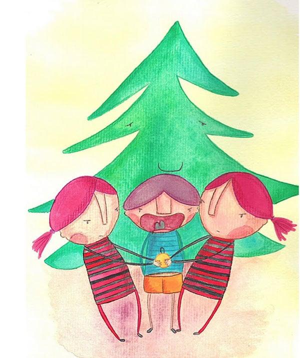 Cuentos de Navidad: Un árbol de Navidad sin Navidad