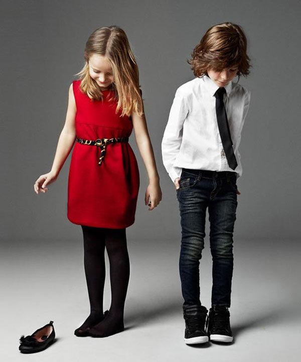 Moda infantil de Navidad