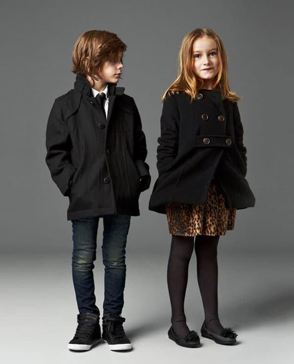 Moda para niños, Navidad 2014
