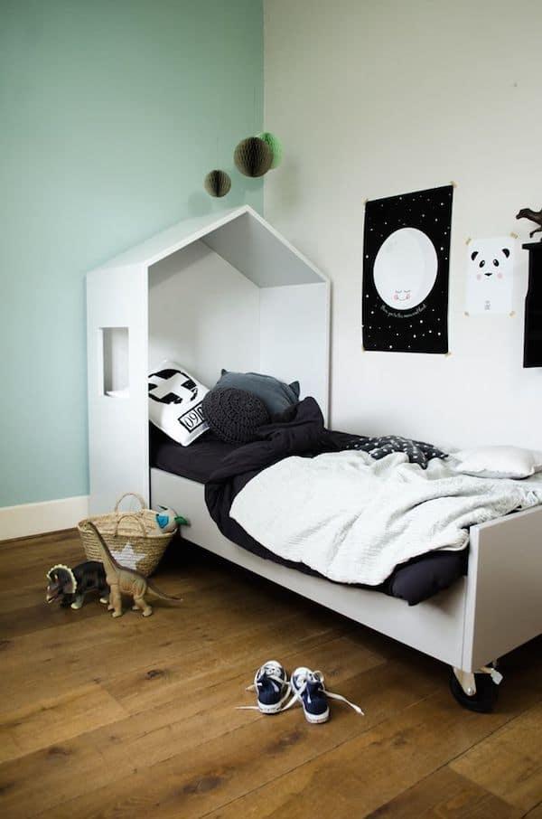10 habitaciones infantiles en blanco y negro   pequeocio