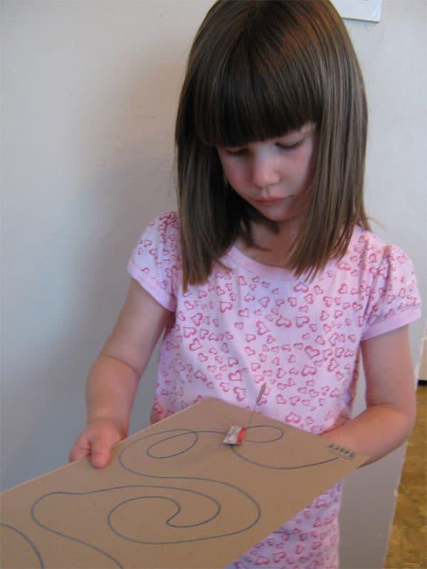 Experimentos infanitles: juguete con magnetos