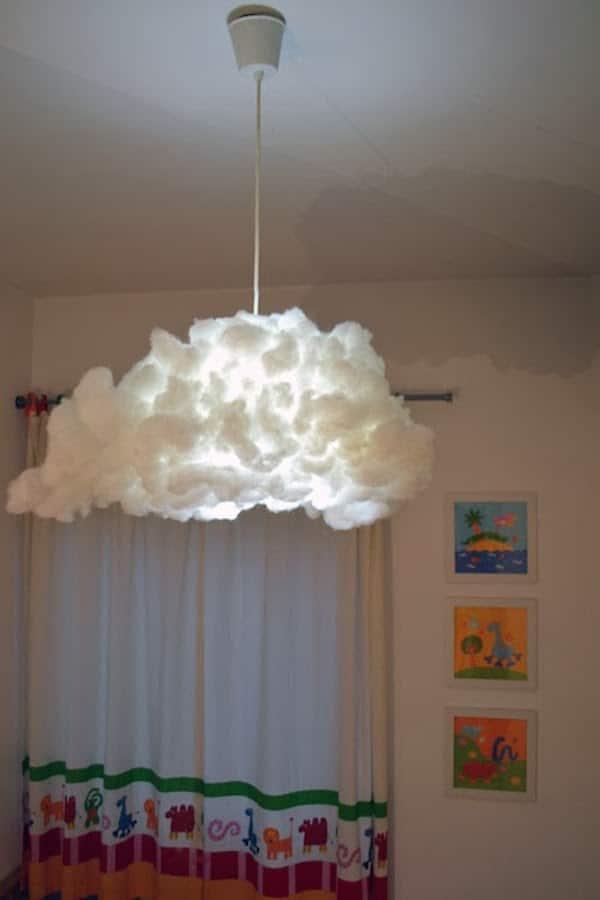 Habitaciones infantiles, decoramos con nubes - PequeOcio