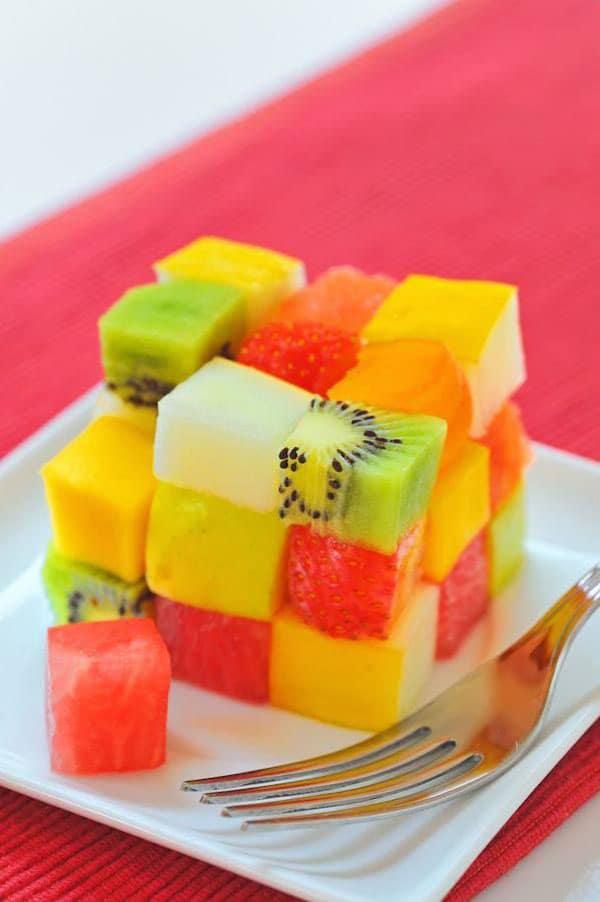Recetas sencillas con fruta