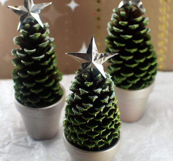 Manualidades navide as usamos pi as for Adornos navidenos que pueden hacer los ninos
