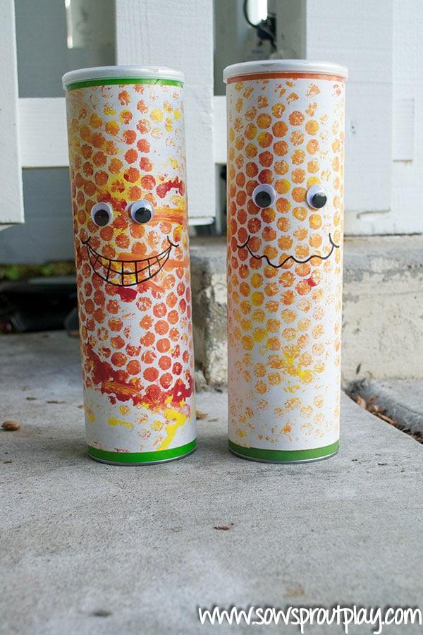Manualidades recicladas con tubos de cartón