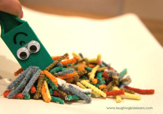 Experimentos infantiles con magnetos