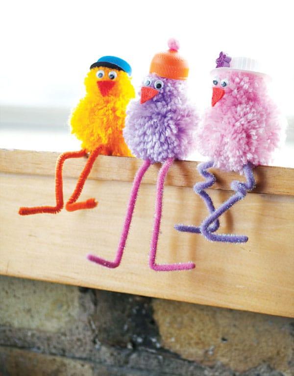 5 manualidades con lana para ni os pequeocio