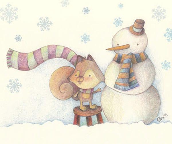 Cuentos de Navidad: El rincón de la nieve