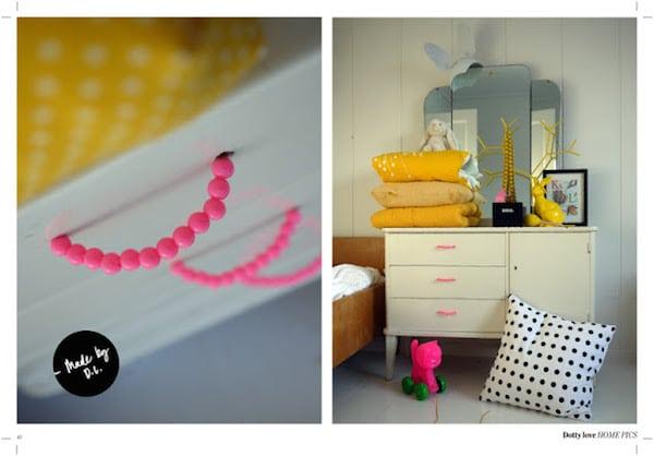 Muebles infantiles renovados