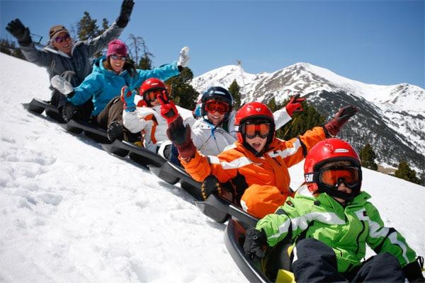 Andorra Un Paraíso Para Esquiar Con Niños Pequeocio
