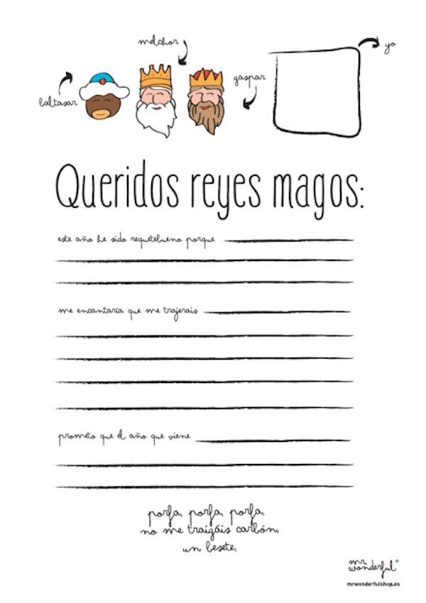 Carta Reyes descargar