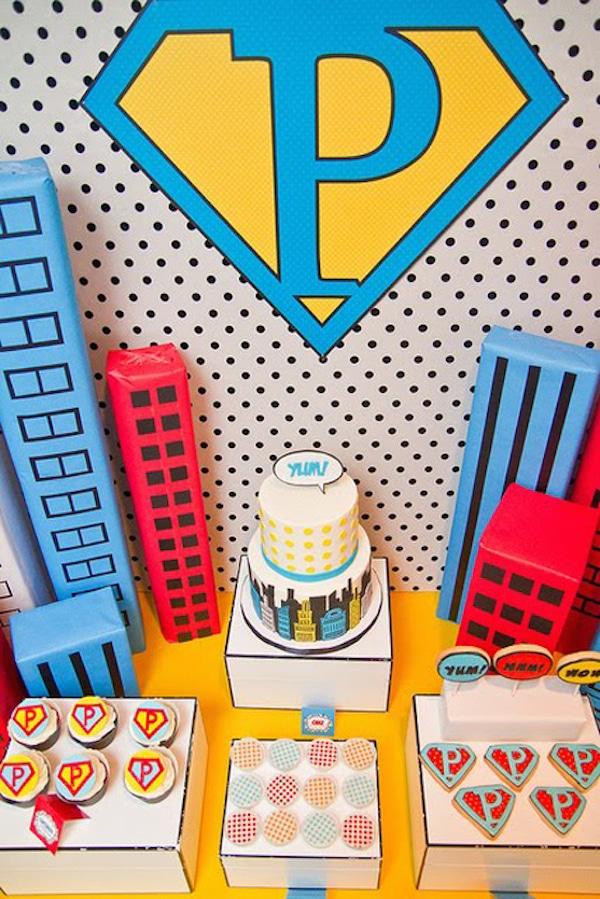 Cumpleaños temáticos de superhéroes