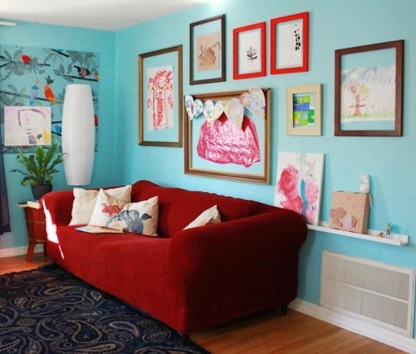 Decorar paredes con los dibujos de los ni os pequeocio - Letras para habitaciones infantiles ...