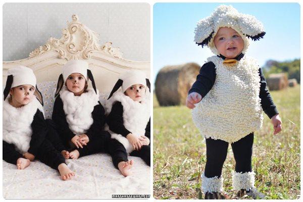 disfraces originales de navidad ovejas