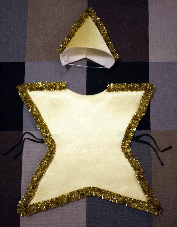 disfraces infantiles originales estrella