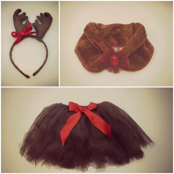 disfraces de navidad para nios el reno rudolf