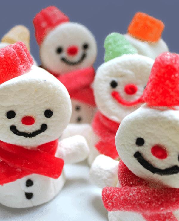 10 recetas de navidad dulces mu ecos de nieve pequeocio - Pequeocio navidad ...