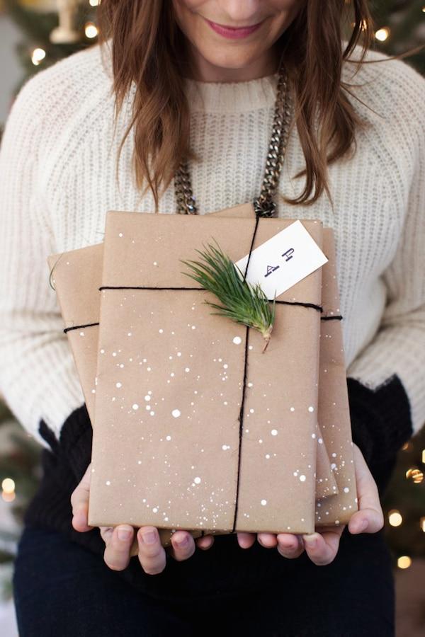 Paquetes de regalo originales