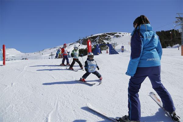 Esquí para niños en Andorra