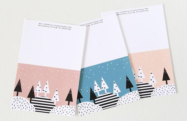 de navidad para imprimir