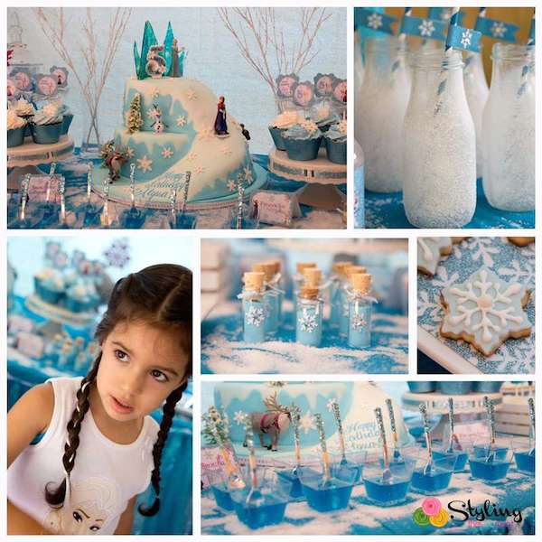 Fiestas infantiles 161 un cumplea 241 os de frozen pequeocio