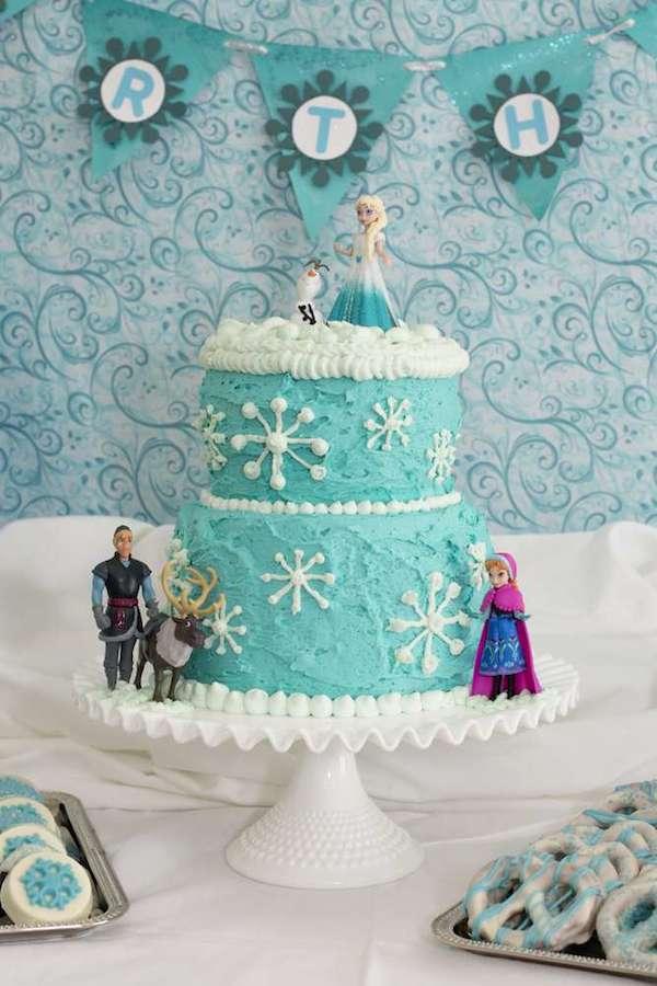 Tartas de cumpleaños de Frozen