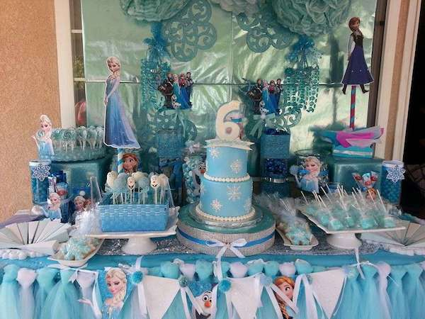 Fiestas infantiles de Frozen