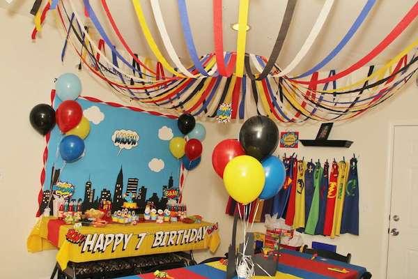 Cumpleaños infantiles temáticos