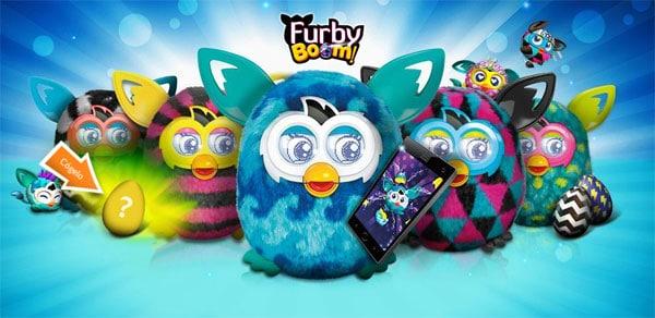 Furby Boom, regalo para niños