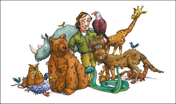 Libros infantiles Félix, el amigo de los animales