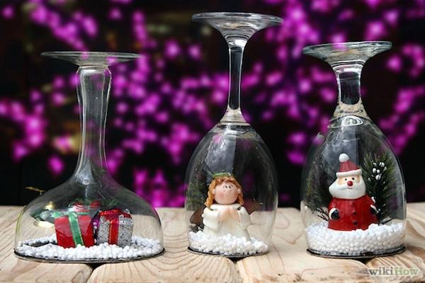 decoracin de navidad adornos para la mesa navidea