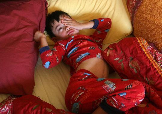 Niños que se hacen pis en la cama