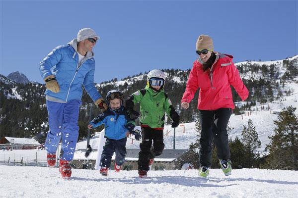 Viajar con niños a Andorra