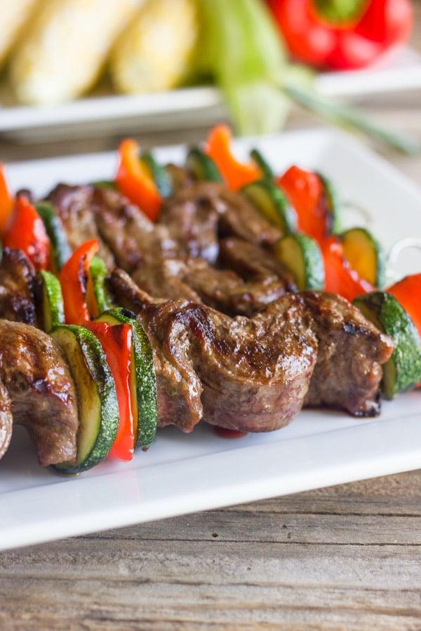 Recetas de carne en brocheta