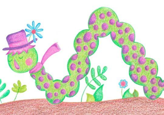 El gusano que quería ser mariposa de seda 1
