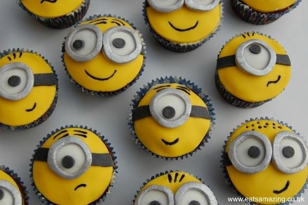 Chocolate Minion Cupcakes