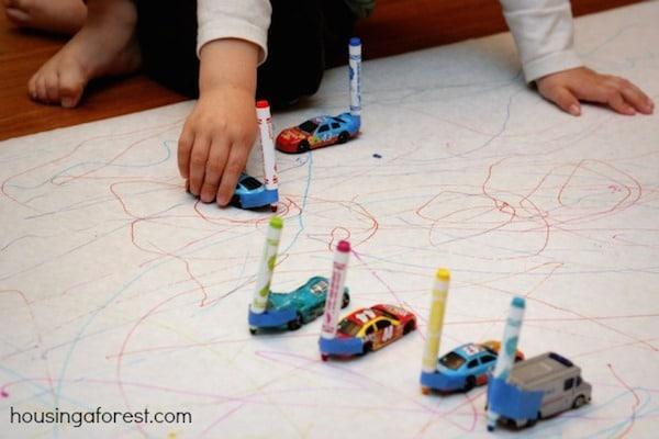 Ideas para dibujar con los niños