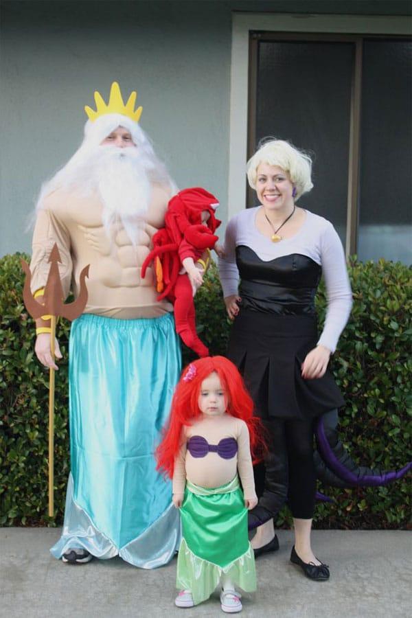 Disfraces divertidos para familias