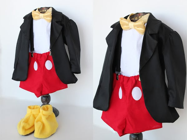 Disfraz casero de Mickey