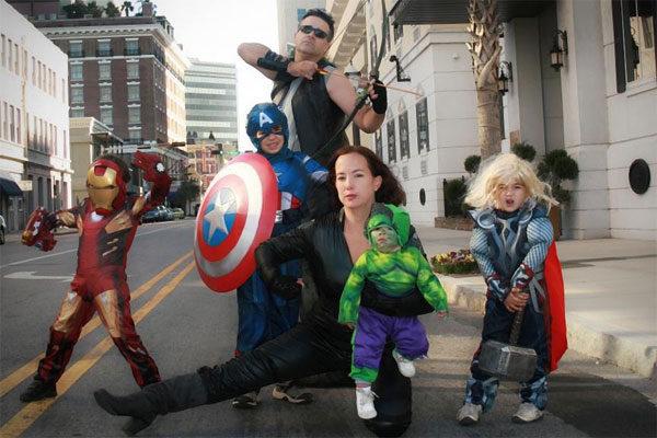 Disfraces en grupo: Los Vengadores