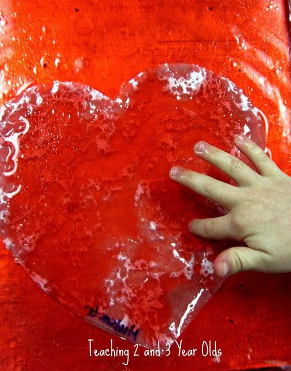 Experimentos para niños de San Valentín