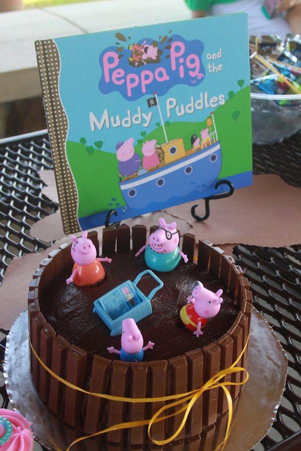 tarta de cumpleaos peppa pig