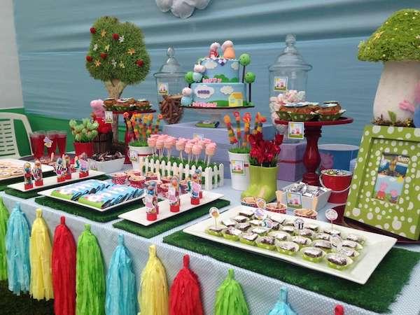 Ideas para fiestas infantiles de peppa pig for Ideas para fiestas infantiles