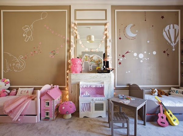 6 habitaciones infantiles compartidas pequeocio. Black Bedroom Furniture Sets. Home Design Ideas